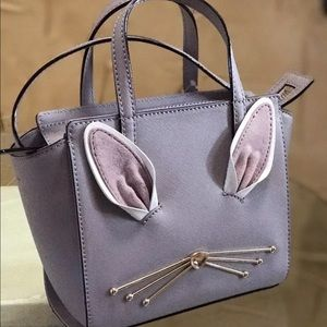 Kate spade hop to It Bunny Rabbit Mini Leather Bag